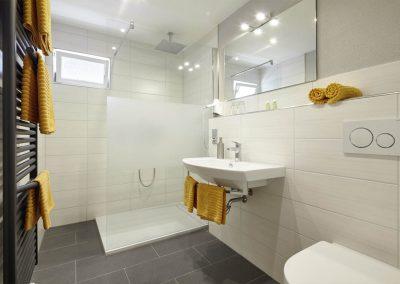 Unsere Zimmer | Bad mit Dusche